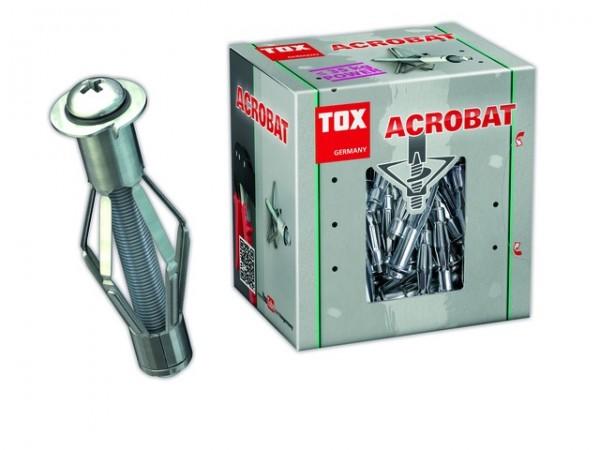 Metall-Hohlraumdübel Acrobat M6 X 52