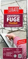 Lugato Universal-Fuge Flexibel Farbe: Silbergrau - 5 kg