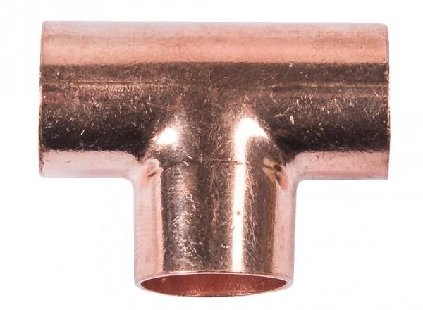 Cu T-Stück 15 mm (10)