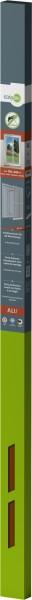 Is-Alu-Tür Xl 120 x 240 cm Braun