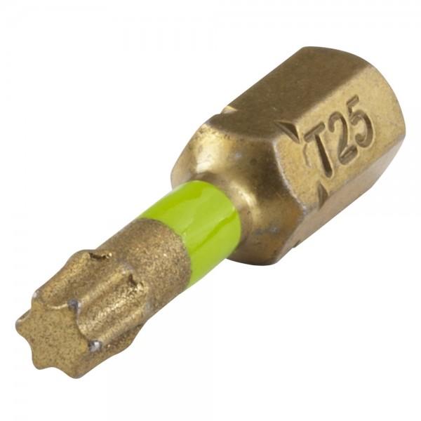 Bit Diamantbestreut Torx No 25
