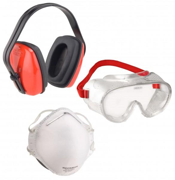 Arbeitsschutz-Set 3-Teilig, Bestehend Aus: