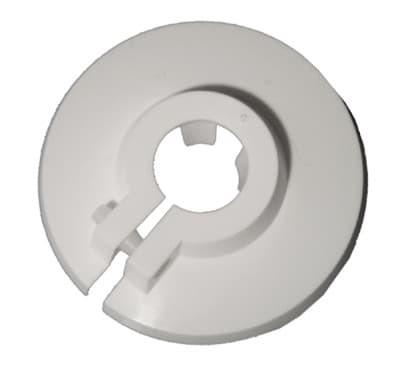 Kunststoff Klemmrosetten 22 mm