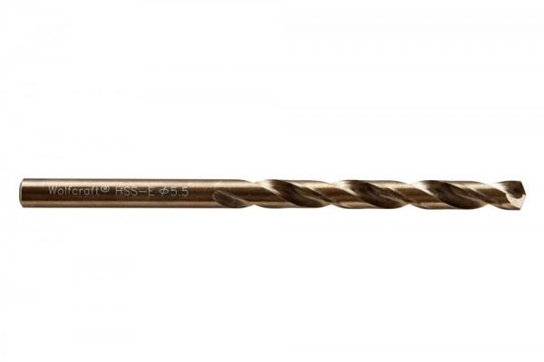 Spiralbohr. Hss(Co)-E 5.5 mm