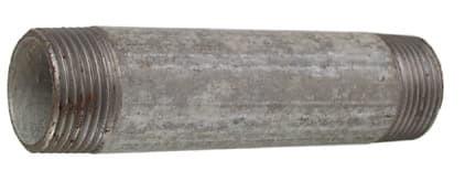Verzinkt Rohrnippel 1'x 120 mm