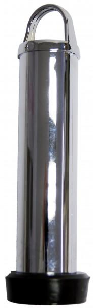 Standrohr 120 mm Chrom