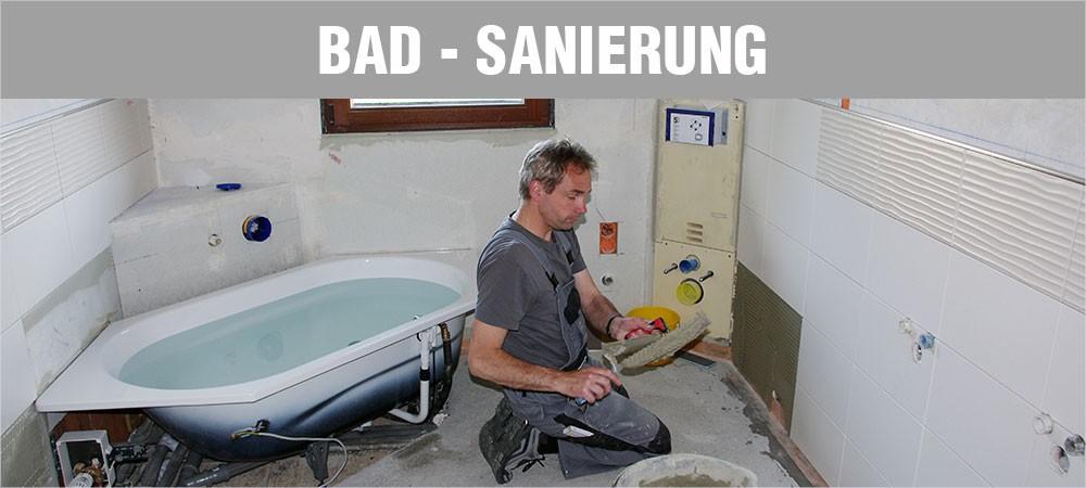 Bad-Sanierung