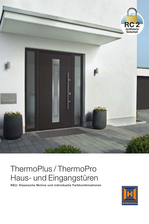 Hörmann-ThermoPlusThermoPro-Haus- und Eingangstüren
