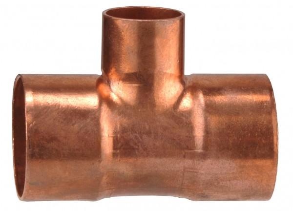 Cu T-Stück 22 X 15 mm