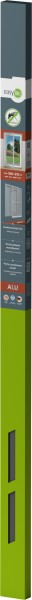 Is-Alu-Tür S12 100 x 215 cm Grau