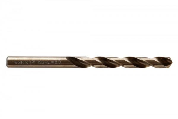 Spiralbohr. Hss(Co)-E 8.0 mm