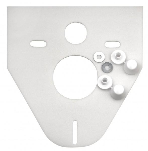 Schallschutz-Set F Wandklosett