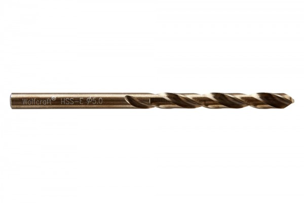 Spiralbohr. Hss(Co)-E 5.0 mm
