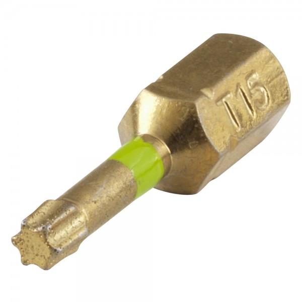 Bit Diamantbestreut Torx No 15