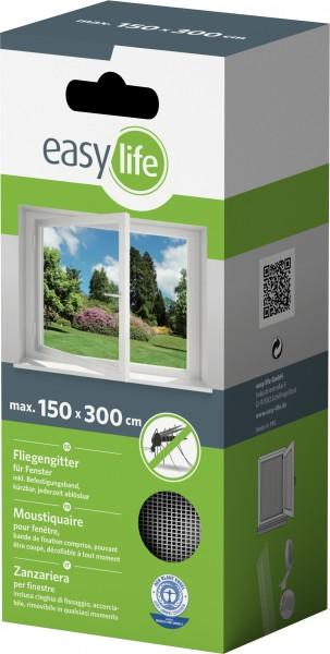 Is-Gitter-Fenster 300 x 150 cm