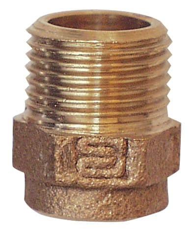 Cu Übergangs-Nippel 15 X 1/2'