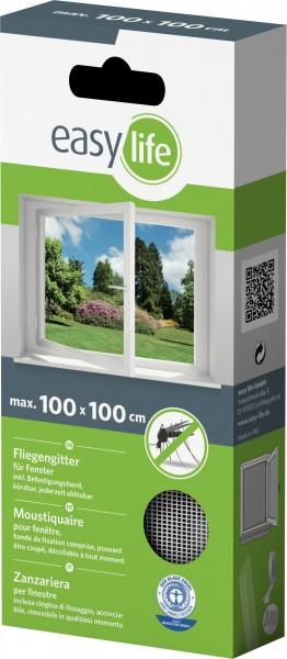 Is-Gitter-Fenster 100 x 100 cm