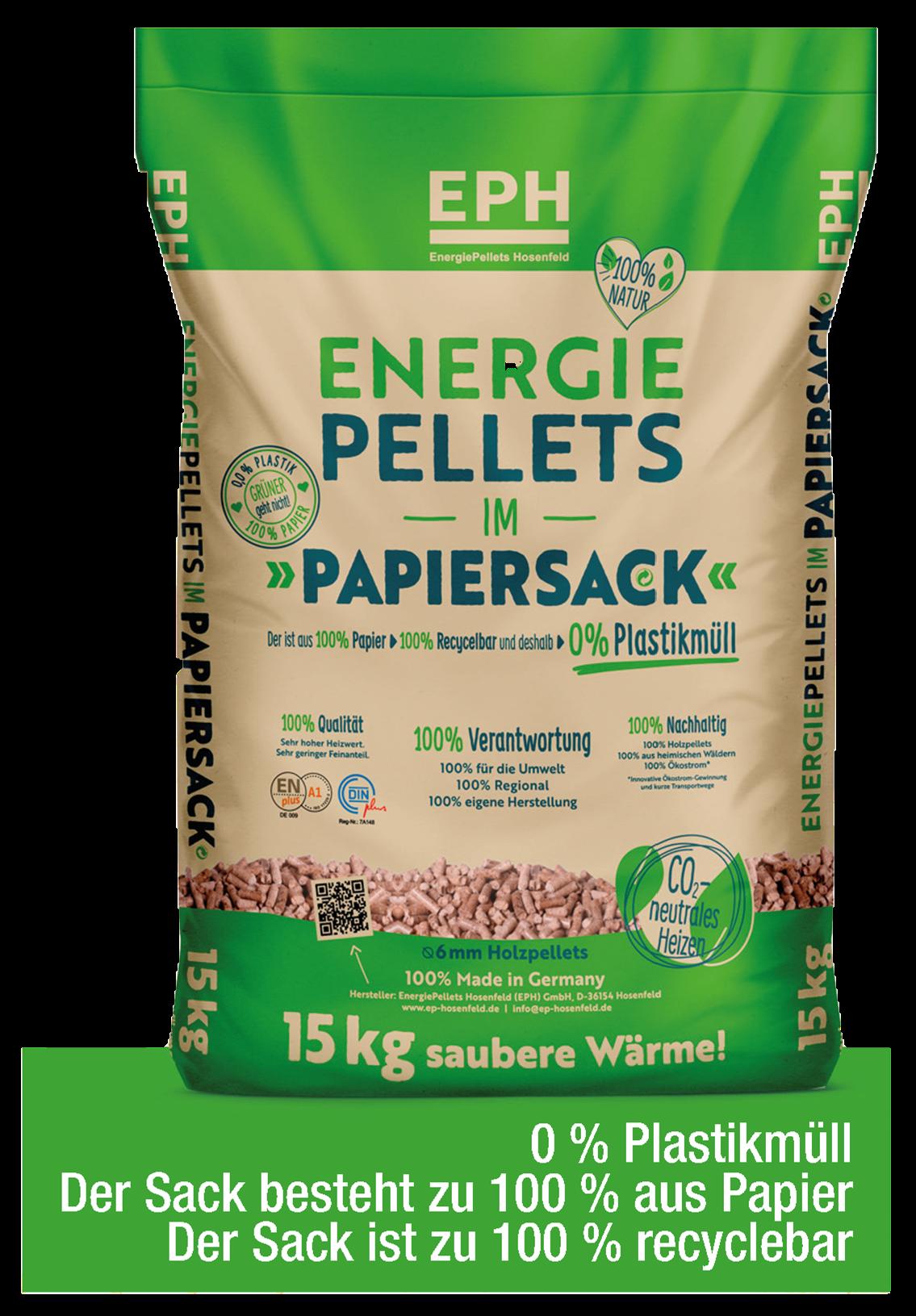 Pellet-Papiersack