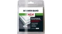 """MEM Bitumen-Band """"Alu"""" Größe: 7.5 cm x 1 m"""