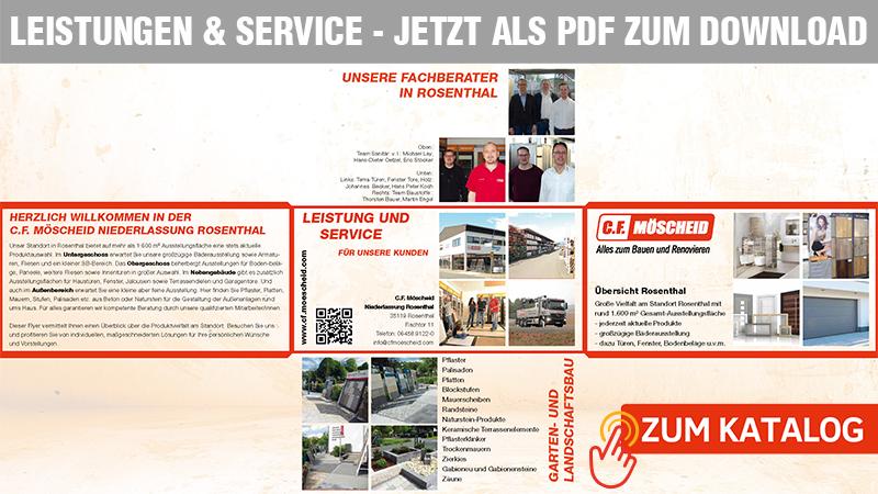 Kataloge Leistungen & Service