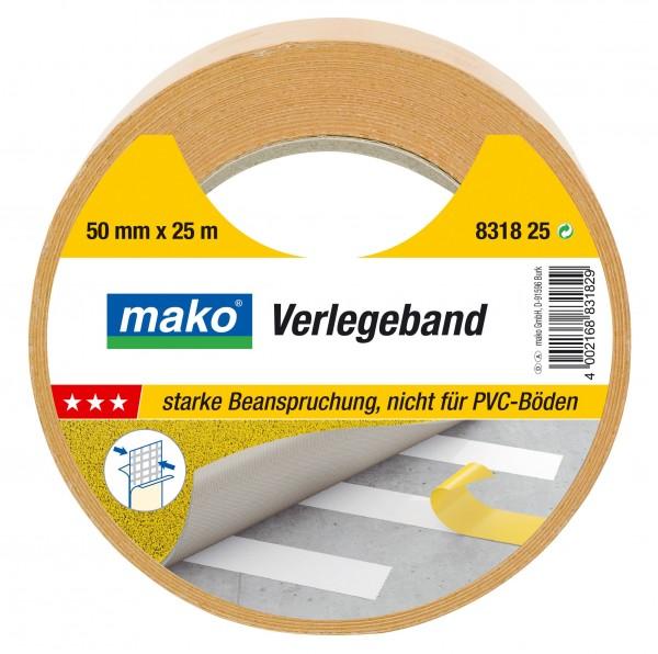Gewebe-Verlegeband 50 mm Breit