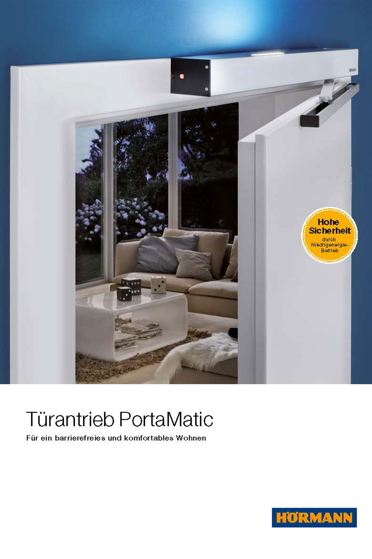 Hörmann-Türantrieb PortaMatic