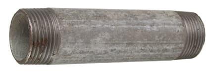 Verzinkt Rohrnippel 3/4'x 80 mm