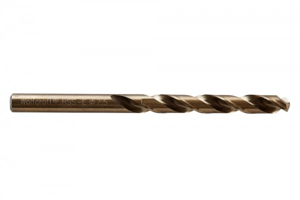 Spiralbohr. Hss(Co)-E 7.5 mm