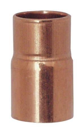 Cu Reduzier-Nippel 18A X 15 mm