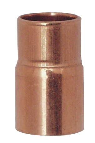 Cu Reduzier-Nippel 22A X 18 mm