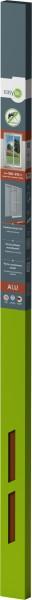 Is-Alu-Tür S12 100 x 215 cm Braun