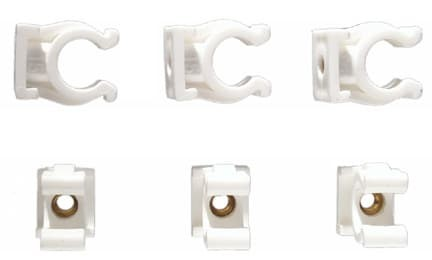 Rohr-Clips Einfach 22 mm (2)