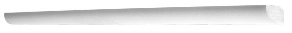 Xps-Zierprofil 150 cm Weiß
