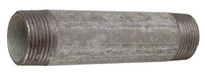 Verzinkt Rohrnippel 1'x 200 mm