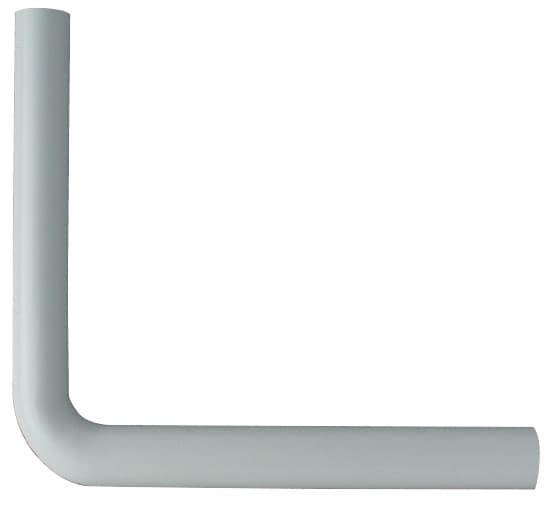 Spülrohrbogen 390 x 350 mm Weiß