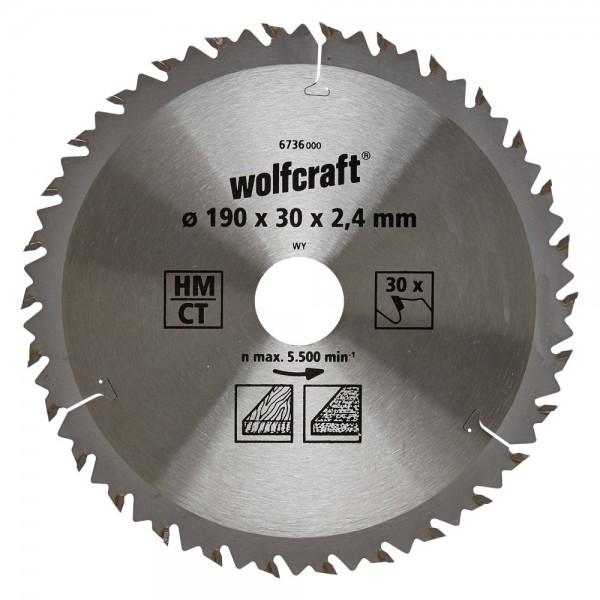 Kreissägeblatt Hm. 30 Zähne