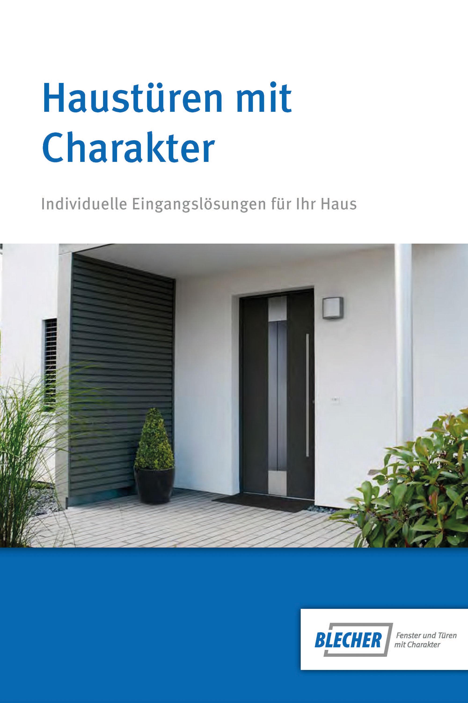 Blecher - Haustüren mit Charakter