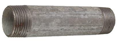 Verzinkt Rohrnippel 3/4'x 120 mm