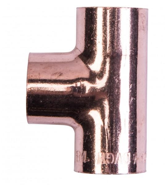 Cu T-Stück 18 mm