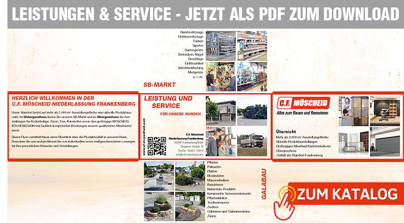 Katalog Leistungen & Service