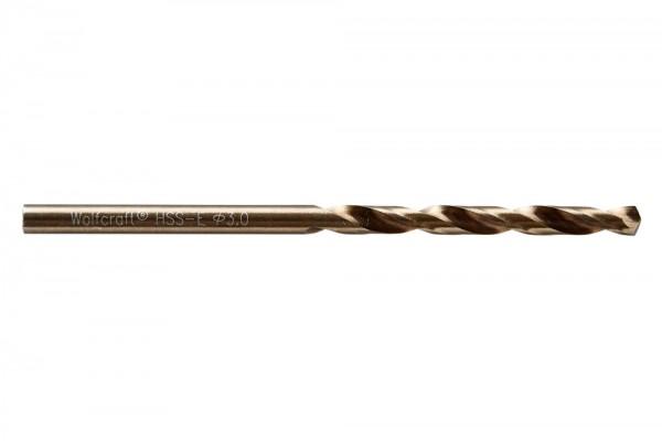 Spiralbohr. Hss(Co)-E 3.0 mm