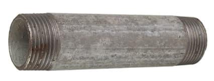 Verzinkt Rohrnippel 1'x 40 mm