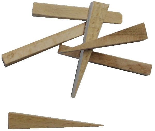 Fliesenkeile Holz 250 St.