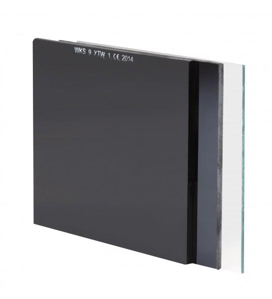 Schutzglas Din 11 90 x 110 mm