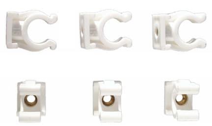Rohr-Clips Einfach 15 mm (6)