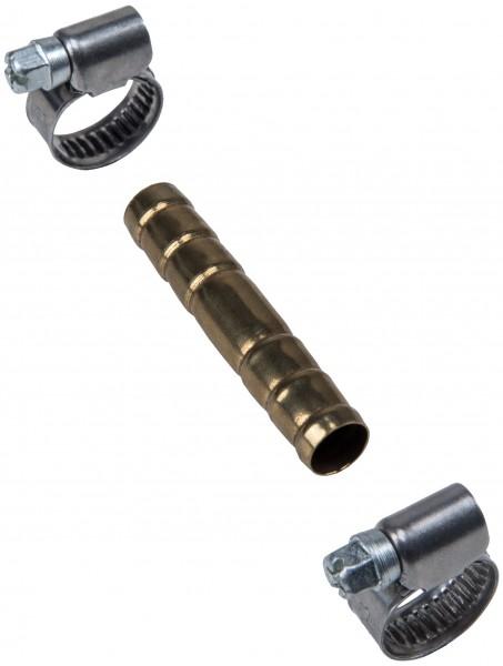 Schlauchverbinder 3/8' Messing
